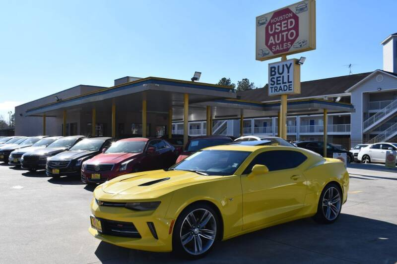 2018 Chevrolet Camaro for sale at Houston Used Auto Sales in Houston TX