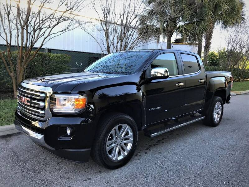 2015 GMC Canyon for sale at DENMARK AUTO BROKERS in Riviera Beach FL