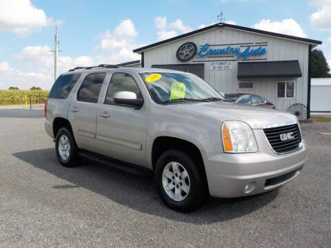 2009 GMC Yukon for sale at Country Auto in Huntsville OH