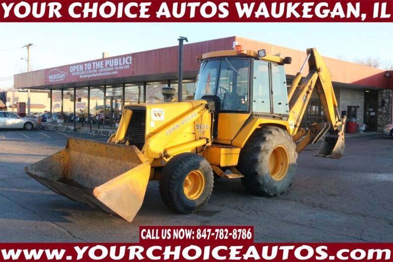 1985 John Deere 510 B for sale at Your Choice Autos - Waukegan in Waukegan IL