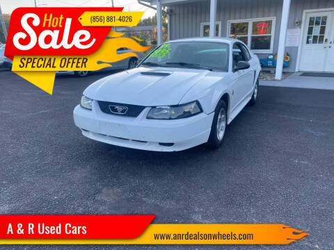 1999 Ford Mustang for sale at A & R Used Cars in Clayton NJ