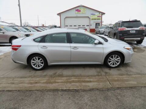 2013 Toyota Avalon for sale at Jefferson St Motors in Waterloo IA
