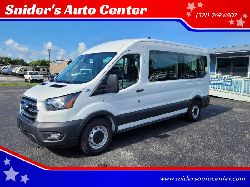 2020 Ford Transit Passenger for sale at Snider's Auto Center in Titusville FL