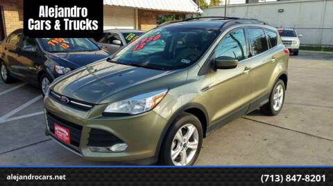 2013 Ford Escape for sale at Alejandro Cars & Trucks in Houston TX