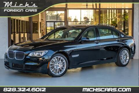 2015 BMW 7 Series for sale at Mich's Foreign Cars in Hickory NC