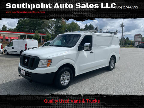 2016 Nissan NV Cargo for sale at Southpoint Auto Sales LLC in Greensboro NC