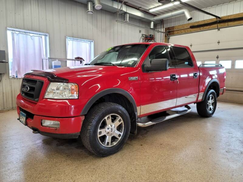 2004 Ford F-150 for sale at Sand's Auto Sales in Cambridge MN