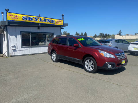 2013 Subaru Outback for sale at Skyline Auto Sales in Santa Rosa CA