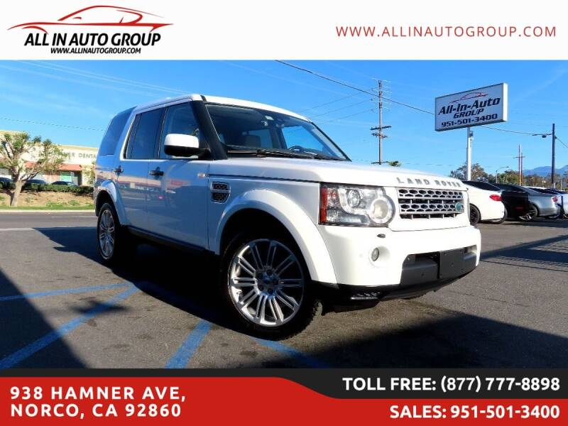 2011 Land Rover LR4 for sale in Norco, CA