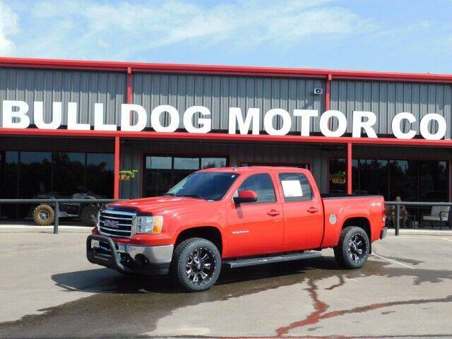 2013 GMC Sierra 1500 for sale at Bulldog Motor Company in Borger TX