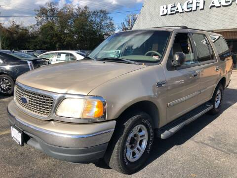2000 Ford Expedition for sale at Beach Auto Sales in Virginia Beach VA