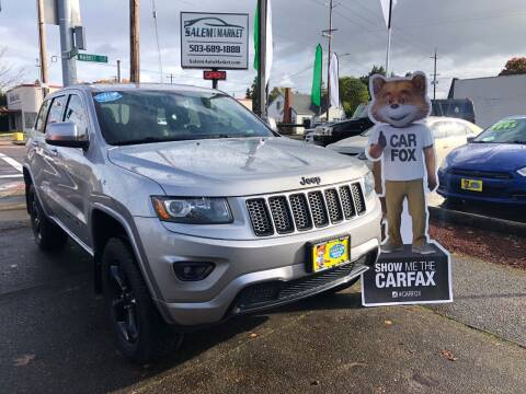2014 Jeep Grand Cherokee for sale at Salem Auto Market in Salem OR