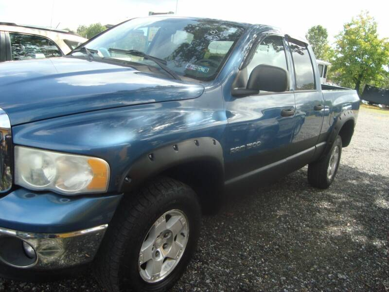 2004 Dodge Ram Pickup 1500 for sale at Branch Avenue Auto Auction in Clinton MD