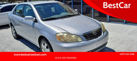 2006 Toyota Corolla for sale at BestCar in Kissimmee FL