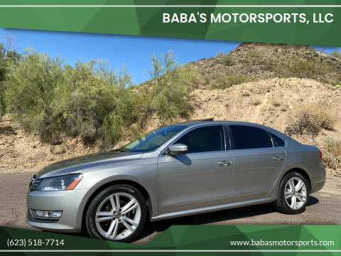 2012 Volkswagen Passat for sale at Baba's Motorsports, LLC in Phoenix AZ