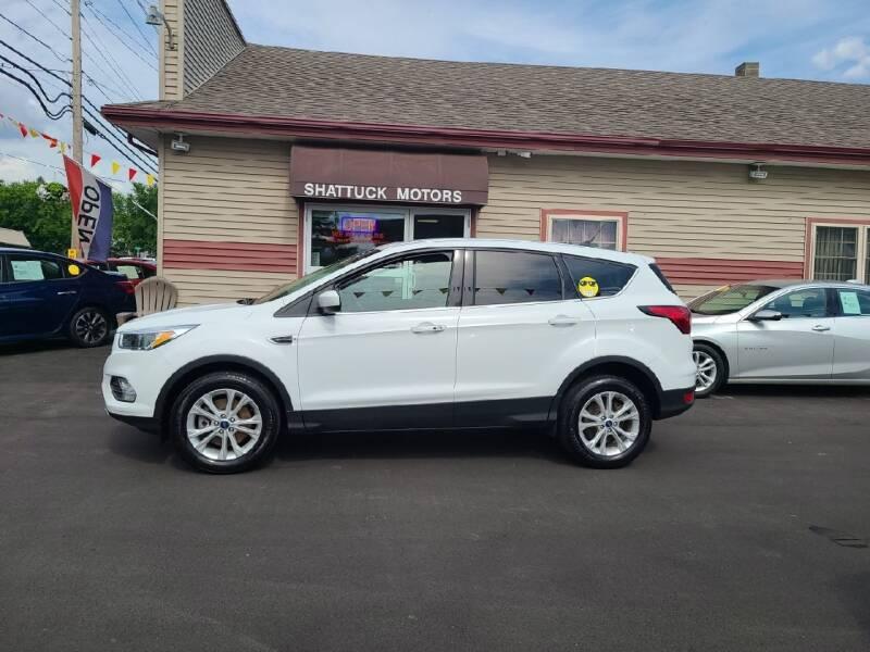 2019 Ford Escape for sale at Shattuck Motors in Newport VT