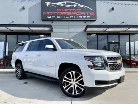 2018 Chevrolet Suburban for sale at Exotic Motorsports of Oklahoma in Edmond OK