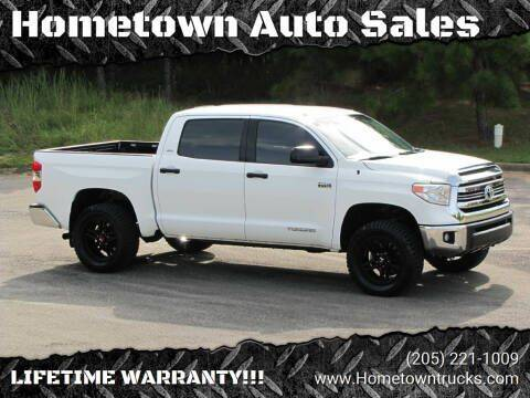 2017 Toyota Tundra for sale at Hometown Auto Sales - Trucks in Jasper AL