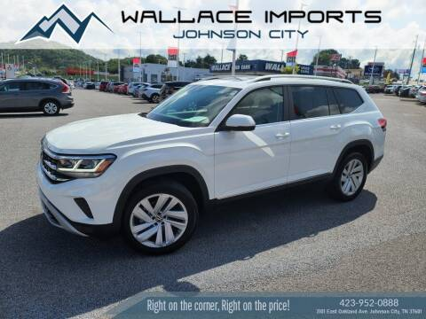 2021 Volkswagen Atlas for sale at WALLACE IMPORTS OF JOHNSON CITY in Johnson City TN