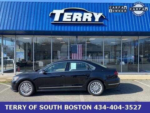 2017 Volkswagen Passat for sale at Terry of South Boston in South Boston VA