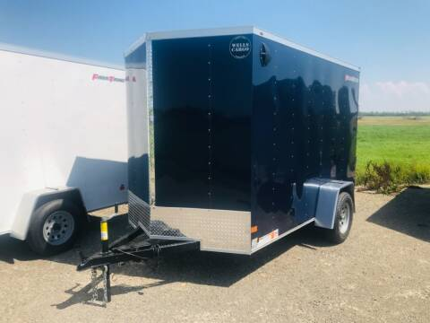 2022 Wells Cargo 6x10 V-Nose Single Axle for sale at Forkey Auto & Trailer Sales in La Fargeville NY