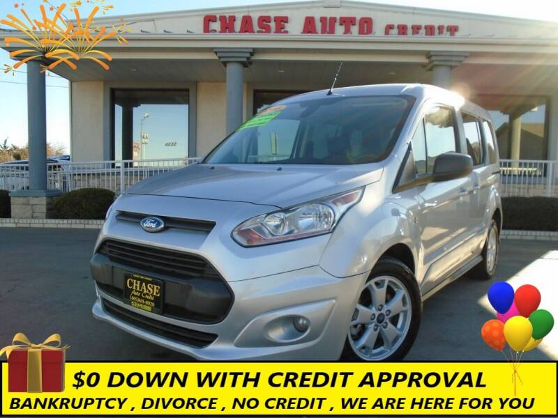2016 Ford Transit Connect Wagon for sale at Chase Auto Credit in Oklahoma City OK