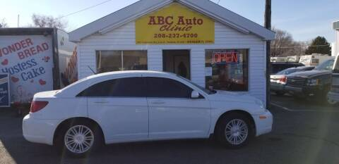 2007 Chrysler Sebring for sale at ABC AUTO CLINIC - Chubbuck in Chubbuck ID
