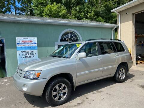 2006 Toyota Highlander for sale at Precision Automotive Group in Youngstown OH