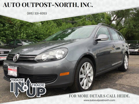 2012 Volkswagen Jetta for sale at Auto Outpost-North, Inc. in McHenry IL