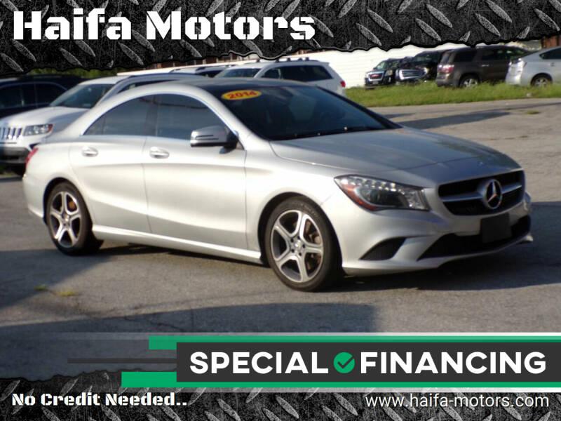 2014 Mercedes-Benz CLA for sale at Haifa Motors in Philadelphia PA