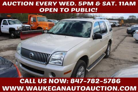 2005 Mercury Mountaineer for sale at Waukegan Auto Auction in Waukegan IL