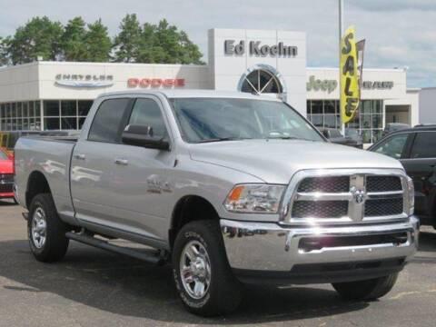 2017 RAM Ram Pickup 2500 for sale at Ed Koehn Chevrolet in Rockford MI