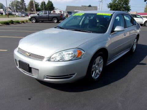 2013 Chevrolet Impala for sale at Ideal Auto Sales, Inc. in Waukesha WI