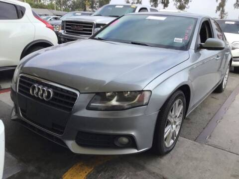 2011 Audi A4 for sale at SoCal Auto Auction in Ontario CA
