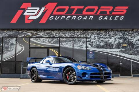 2010 Dodge Viper for sale at BJ Motors in Tomball TX