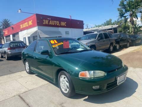 2001 Mitsubishi Mirage for sale at 3K Auto in Escondido CA