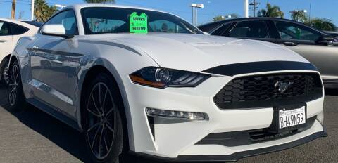 2019 Ford Mustang for sale at BILLY D SELLS CARS! in Temecula CA