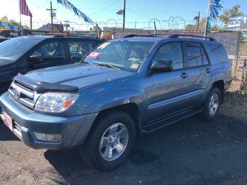 2004 Toyota 4Runner for sale at Riverside Wholesalers 2 in Paterson NJ
