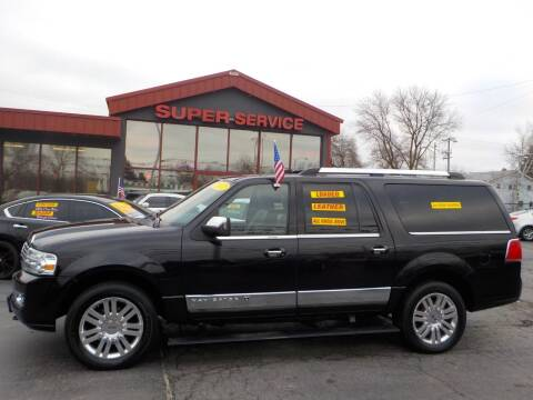2012 Lincoln Navigator L for sale at Super Service Used Cars in Milwaukee WI