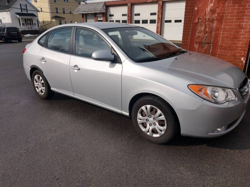 2010 Hyundai Elantra for sale at A J Auto Sales in Fall River MA