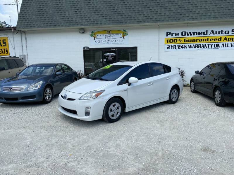 2010 Toyota Prius for sale at Klett Automotive Group in Saint Augustine FL