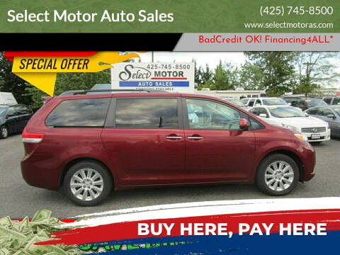 2011 Toyota Sienna for sale at Select Motor Auto Sales in Lynnwood WA