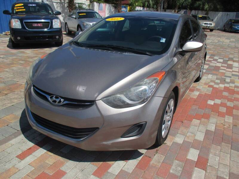2012 Hyundai Elantra for sale at Affordable Auto Motors in Jacksonville FL