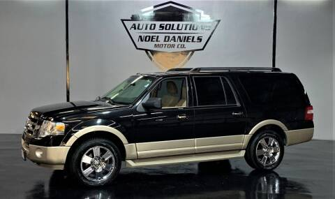 2010 Ford Expedition EL for sale at Noel Daniels Motor Company in Ridgeland MS
