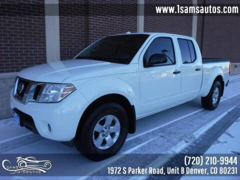 2013 Nissan Frontier for sale at SAM'S AUTOMOTIVE in Denver CO