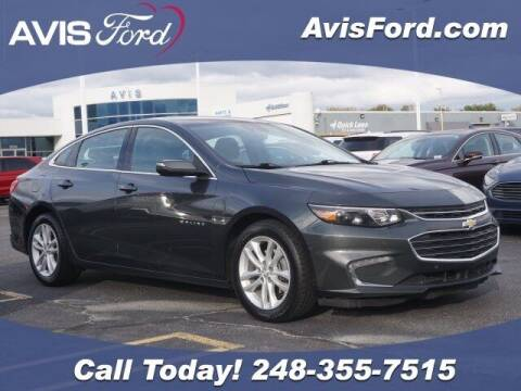 2018 Chevrolet Malibu for sale at Work With Me Dave in Southfield MI