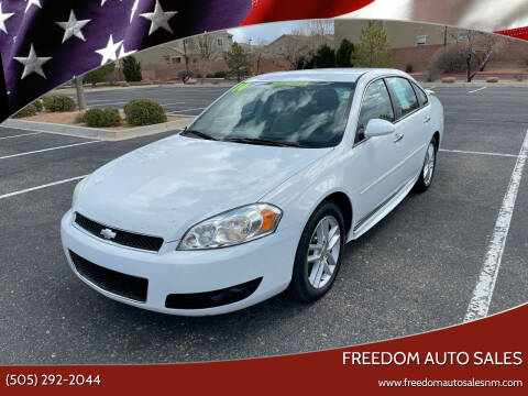 2014 Chevrolet Impala Limited for sale at Freedom Auto Sales in Albuquerque NM