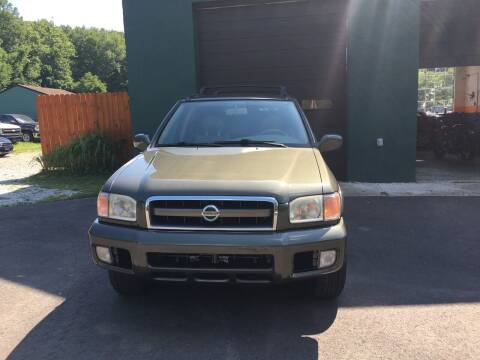 2004 Nissan Pathfinder for sale at Last Frontier Inc in Blairstown NJ