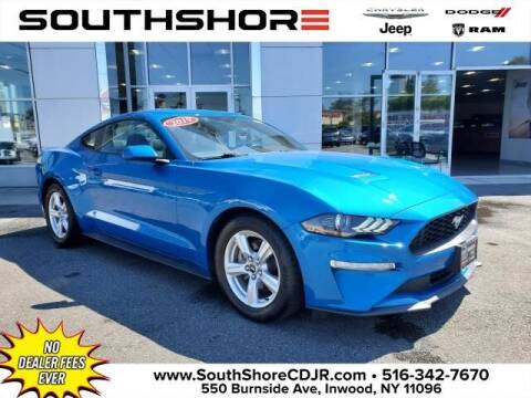 2019 Ford Mustang for sale at South Shore Chrysler Dodge Jeep Ram in Inwood NY