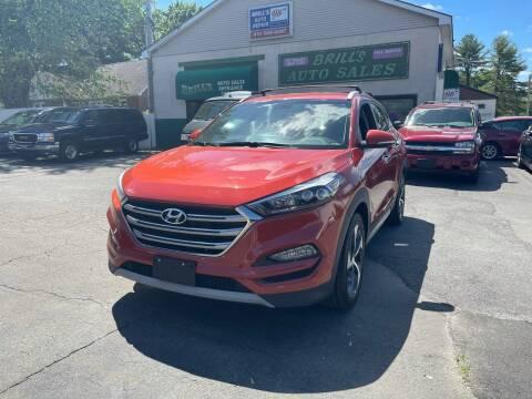 2017 Hyundai Tucson for sale at Brill's Auto Sales in Westfield MA